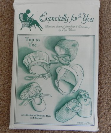 Heirloom Sewing, Smocking & Embroidery ESPECIALLY FOR YOU Pattern Top to Toe