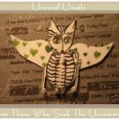 Fairy Kitten FOLK ART TOY Doll Paper Cat PUPPET aceo