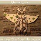 Fairy Kitten FOLK ART TOY Doll Paper Cat PUPPET aceo