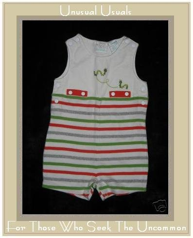 KOALA BABY Soft Striped Cotton Caterpillar Romper 3-6 M