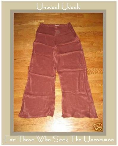 APRIL CORNELL BIAS BLOOMERS FLOODS PANTS SILK SIENNA SMALL S