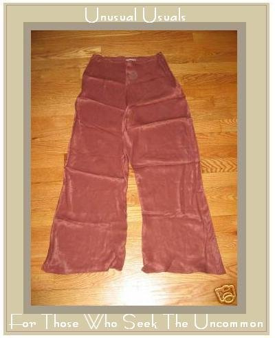 APRIL CORNELL BIAS BLOOMERS FLOODS PANTS SILK SIENNA MEDIUM M