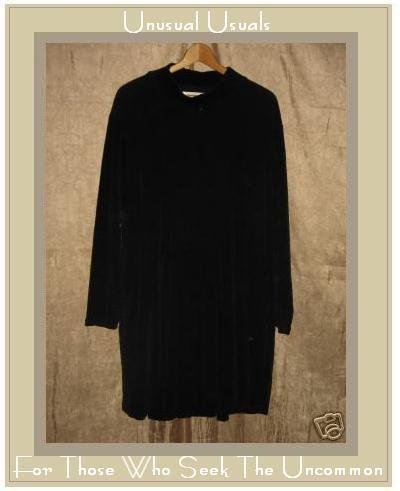 Angelheart Designs by Jeanne Engelhart Flax Velour Dress MEDIUM M