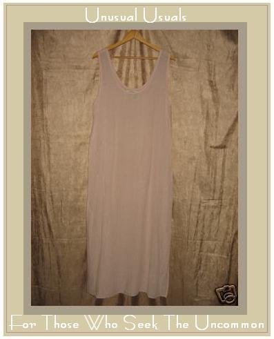 Angelheart Designs by Jeanne Engelhart Pink Dress Flax MEDIUM M