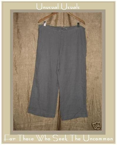 SOLITAIRE Lavender LINEN Drawstring Pants X- Large XL