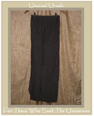 Flax by Jeanne Engelhart Earthy Purple Wrap Skirt Small S