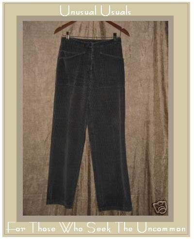 J. JILL Soft Gray Corduroy Pants Slacks Size 4 XS Small
