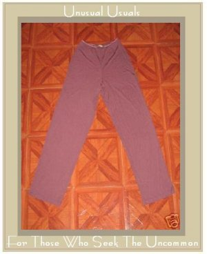 J. JILL WEIGHTY PURPLE BLUSH STRETCHY PANTS SIZE 10 SMALL S MEDIUM M