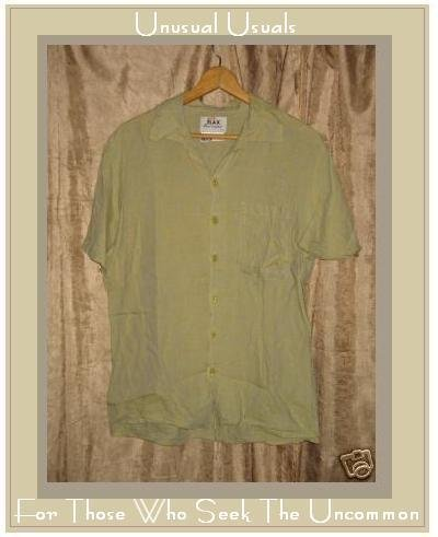 FLAX by JEANNE ENGELHART Crosswoven LINEN Shirt Top PETITE P