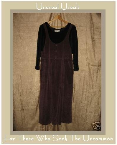 Angelheart Designs by Jeanne Engelheart Velour Dress Petite P