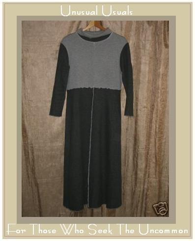 FABULOUS Bryn Walker Long Inside Out Seams Dress Small S