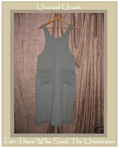 Cute ROSEY Boutique Sage Green Jumper Jump Dress Large L
