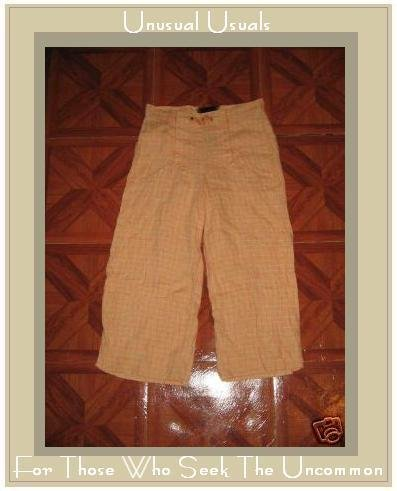 FLAX SHORT & SNAPPY SAILORS PANTS BY JEANNE ENGELHART PETITE P
