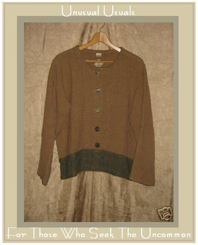 TRIBE Boutique Earthy Cotton Jacket Shirt Top Medium M