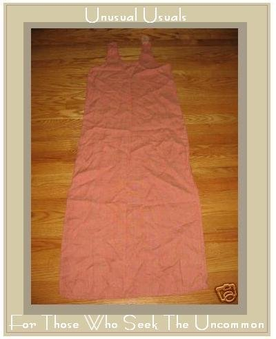FLAX ORANGE GRANITE SLIPSTER DRESS JEANNE ENGELHART PETITE P