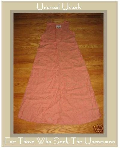 FLAX ORANGE GRANITE FITTED SLIPSTER DRESS ENGELHART PETITE P