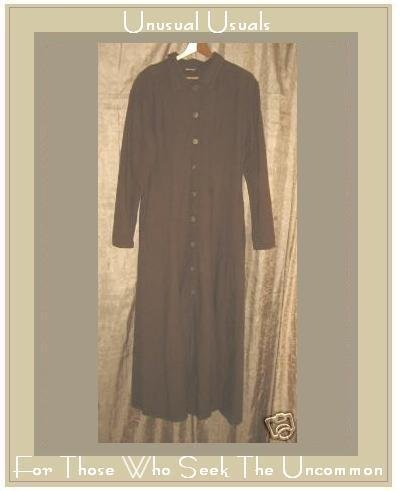 CUTE COTTON COTTON BROWN BUTTON DOWN DRESS SIZE SMALL S
