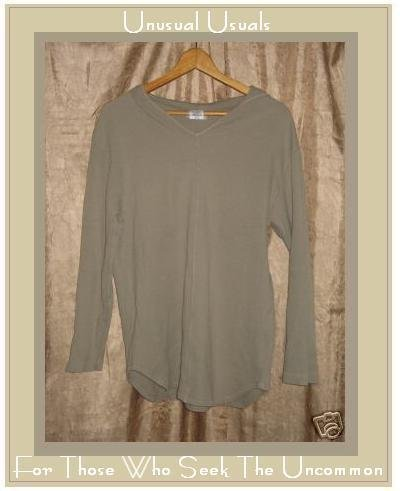 CUTE COTTON STUDIO HOODED PULLOVER TUNIC TOP SHIRT SMALL S