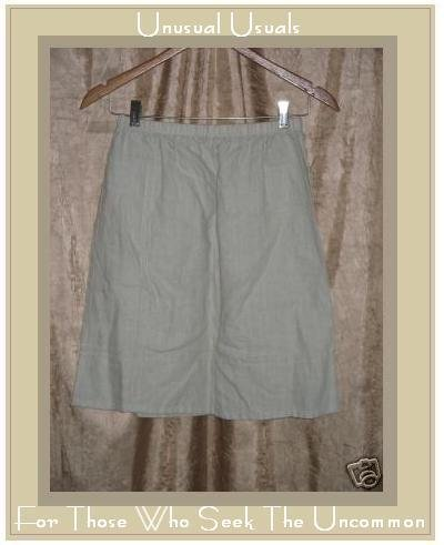 J. JILL CUTE LIGHT & AIRY LINEN KNEE SKIRT SIZE SMALL S