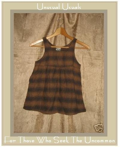 SO FUN! Adorable Boutique Girl's Plaid Cotton Dress 4/5