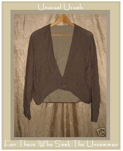 ANGELHEART DESIGNS Engelhart Flax Reversible Jacket Top Petite P