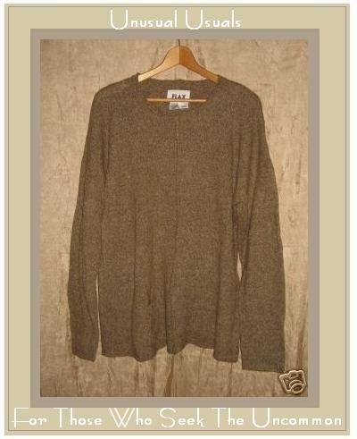 FLAX by Angelheart Pocket Tunic Sweater Engelhart Small Medium S M