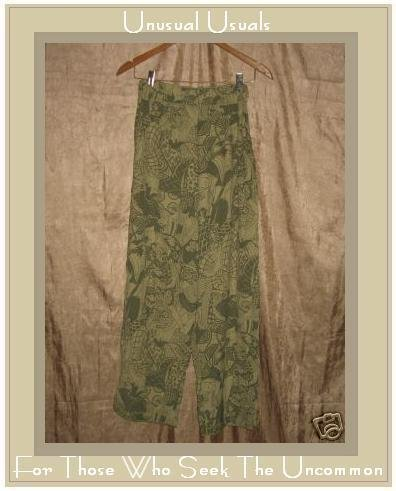 NOTHING MATCHES Asain Art to Wear Pants Donna Jessica 1