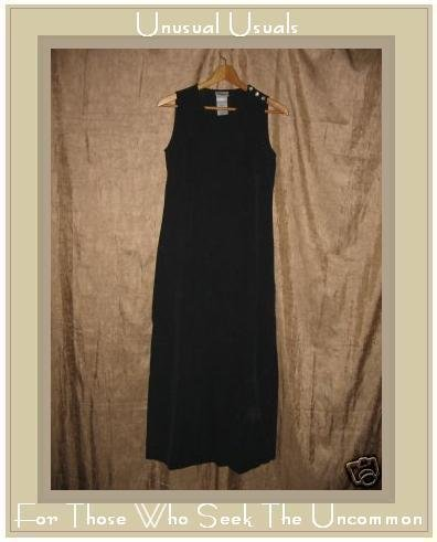 LAURA ASHLEY Black Silk Sheath Dress UK 8 EUR 34 US 4 Small S