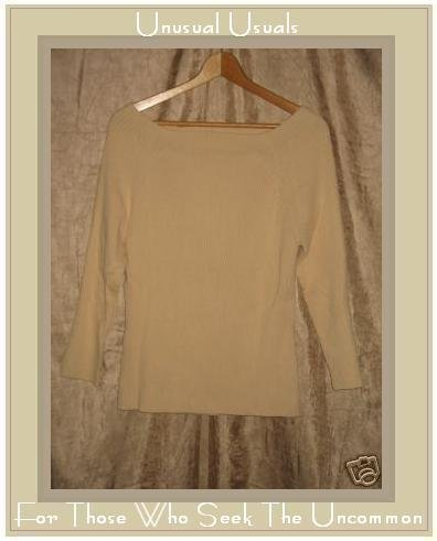 J. JILL Soft Yellow Pullover Sweater Shirt Top JJILL LT