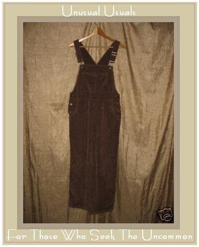 J. JILL Chocolate Brown CORDUROY Overalls Pants SP PS PETITE