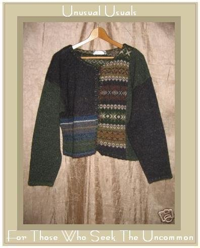 Kristi Rose Recycled Wool Button Cardigan Sweater One Size