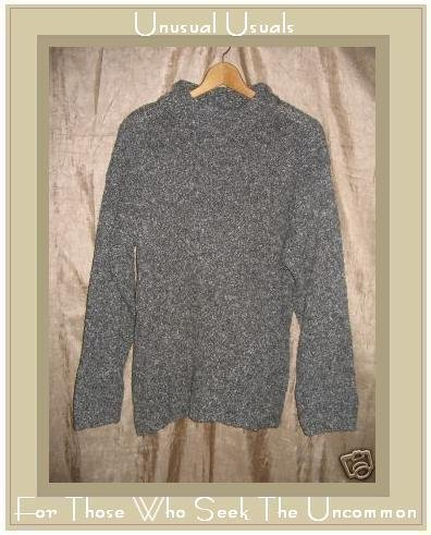 SNOW Gray Turtleneck Tunic Sweater Small S