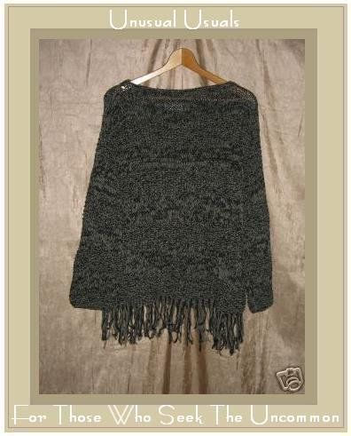 RICO Thick Cotton Knit Pullover Sweater Top One Size