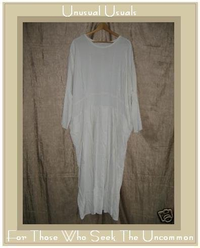 Angelheart Design by Jeanne Engelhart Flax Milky White Dress LARGE L