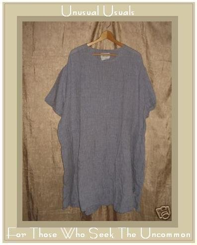 FLAX by Jeanne Engehart Short Shapely Tunic Dress 3G