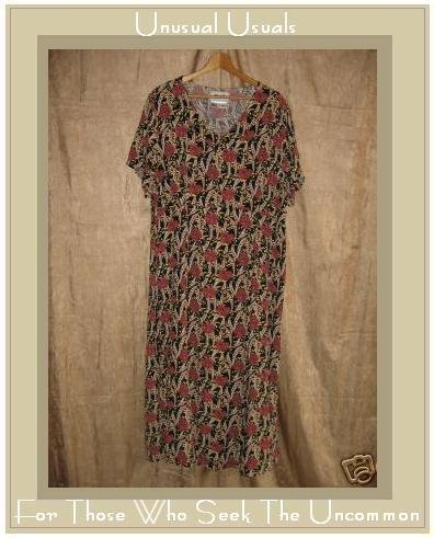 FLAX by Jeanne Engehart Thirties Theme Tropics Dress 1G