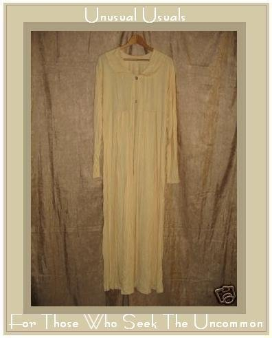 FLAX Soft Yellow Rayon Knit Dress Dress Jeanne Engelhart LARGE L