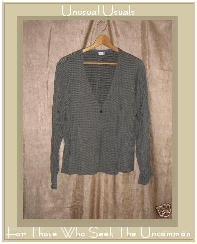 Eileen Fisher Single Button Jacket Top Medium M