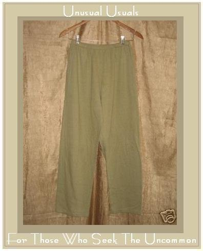 FLAXseeds by Angelheart Cotton Pants Jeanne Engelhart Large L