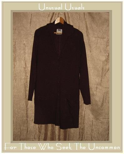 FLAX by Jeanne Engelhart Multiple Choice Duster Jacket Medium M