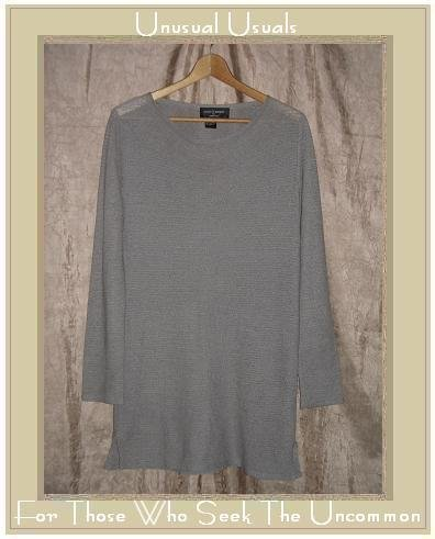 COLETTE MORDO for SADIMARA Light Slinky Knit Tunic Sweater Top Medium M