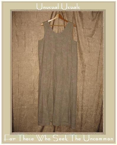 FLAX by Jeanne Engehart Linen Slipster Dress LARGE L