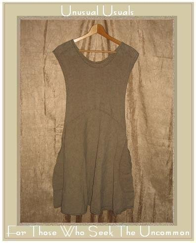 FLAX by Jeanne Engelhart Temperate 97 Willow Vestment Jump Dress Large L