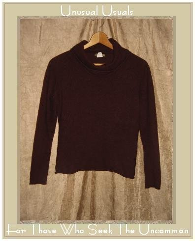 J. Crew  Russet Lambswool & Angora Turtleneck Tunic Sweater Large L