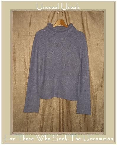 J. Crew Lavender Nubby Knit Turtleneck Tunic Sweater X-Large XL