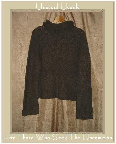 J. Crew Mushroom Gray Nubby Knit Turtleneck Tunic Sweater Large L