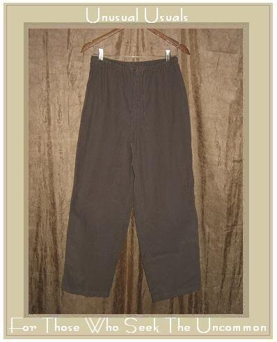 J. JILL Soft Gray Corduroy Pants Slacks Medium M