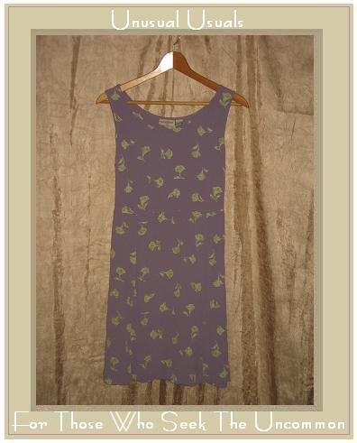 PUTUMAYO Shapely Purple Floral Tied Waist Dress Medium M