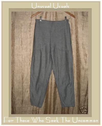 TRIBE by A People United Reversible Gray Cotton Pants Small S