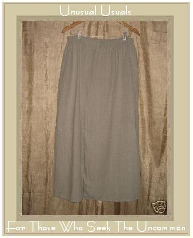 FLAX by Jeanne Engelhart LINEN Skirt 2 Generous 2G